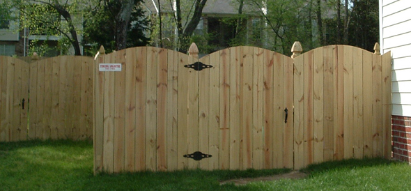 Privacy Scallop Fencing Richmond